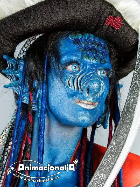 Body Painting Animacionalia Málaga. Gibraltar Face and Body Painting Festival 2015