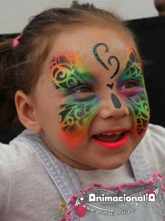 Maquillaje Infantil Málaga. Animacionalia. Animaciones Infantiles Málaga. Fiesta Infantil Málaga