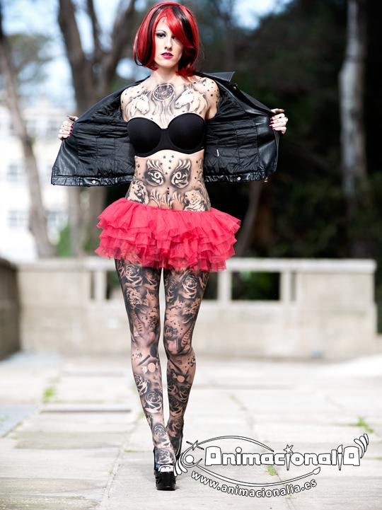 Airbrush tattoo. Tatuaje de aerógrafo. Tatuaje semipermanente. Body tattoo. Animacionalia Málaga. Gibraltar 2016