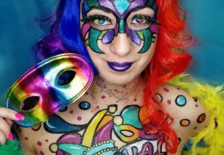 carnaval 2018. body painting. pintura corporal. carnaval. face painting. pinta caras. malaga. Andalucia. 2018.